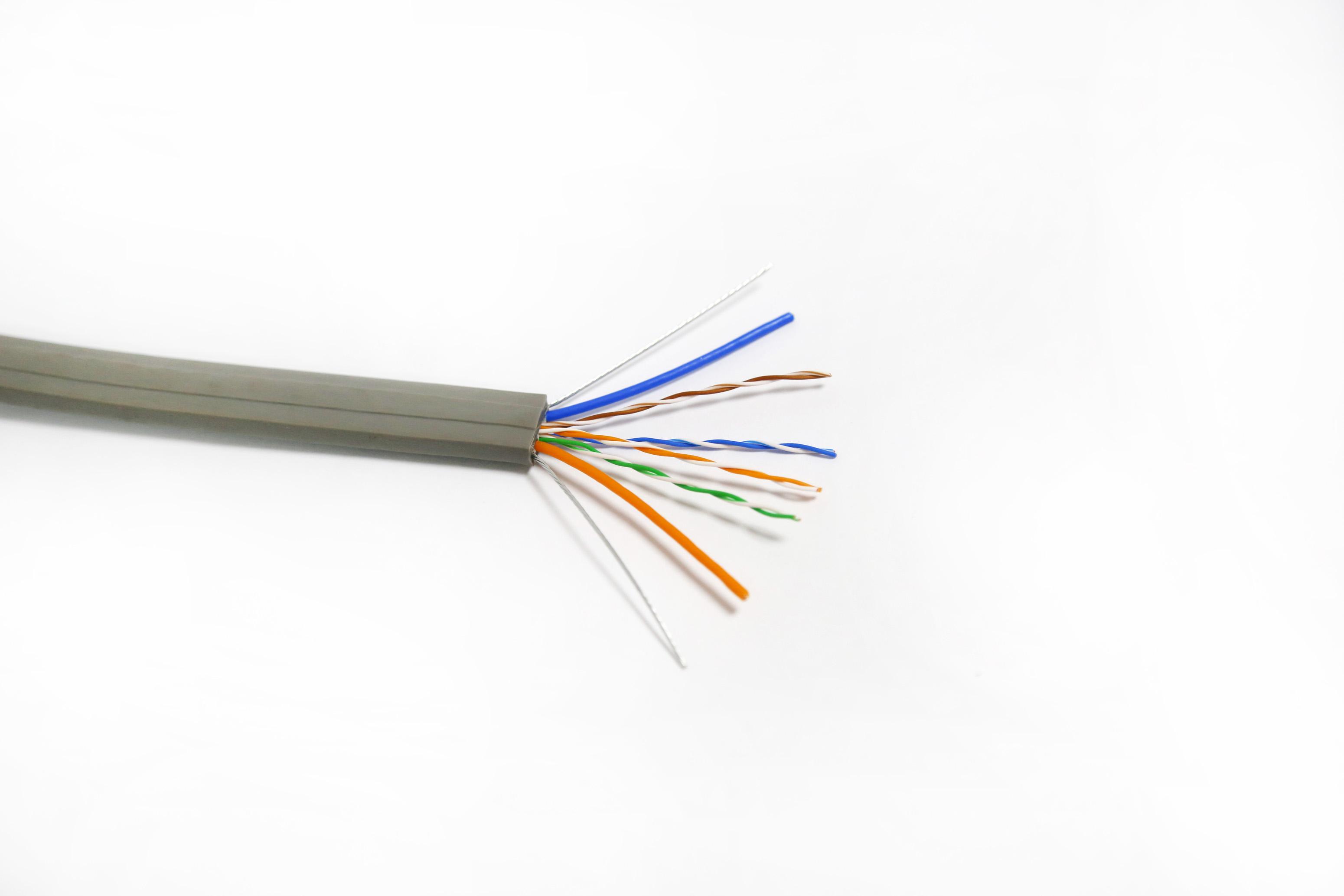电梯专用缆(八芯网络+电源+钢丝)